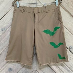 Libertine for Target Bat Print Shorts